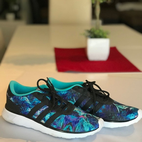 le adidas neo in forma schiuma purpleteal scarpe taglia 95 poshmark